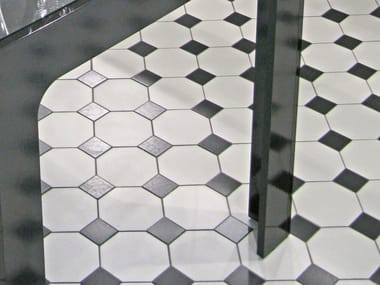 Indoor/outdoor full-body porcelain stoneware flooring HEX - OCTAGON