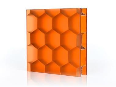 Composite material prefabricated panel HEXABEN™