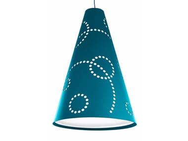 Lampada a sospensione in feltro HEY-LIGHT STAMP