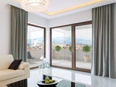 Aluminium and wood triple glazed window HF410