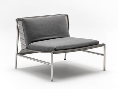 Wire mesh easy chair HI-TECH