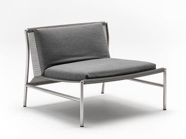 Wire mesh easy chair HI-TECH