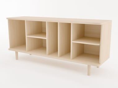 Melamine-faced chipboard sideboard HILLEN | Sideboard