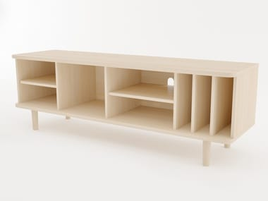 TV cabinet with cable management HILLEN | TV cabinet