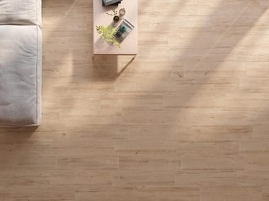 Porcelain stoneware wall/floor tiles with wood effect HIRATI