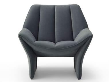 Armchair with armrests HIRUNDO | Armchair