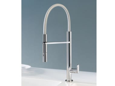 Kitchen mixer tap with spray HITECH 350/1
