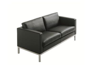 Leather sofa HJM SOFLEX 150   Sofa