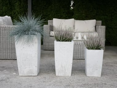 Concrete garden vase / vase HK