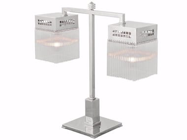Direct light handmade nickel table lamp HOFFMANN IV   Table lamp