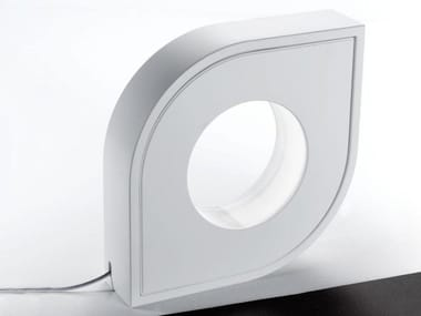 Lampe de table / lampadaire en Coral Water Out® HOLE