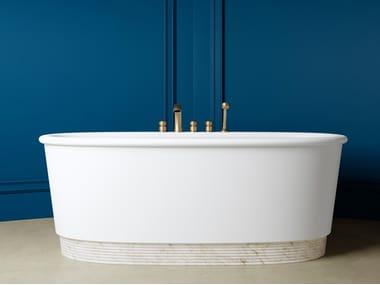 Oval White Tec Plus bathtub HOLIDAY