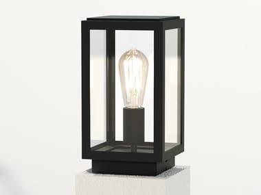 Lampada da terra per esterno a LED in acciaio inox in stile moderno HOMEFIELD PEDESTAL