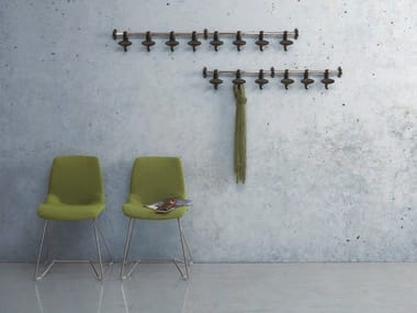 Cabide de aço cromado de parede HOOK