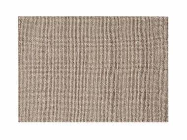 Rectangular wool rug HOOT