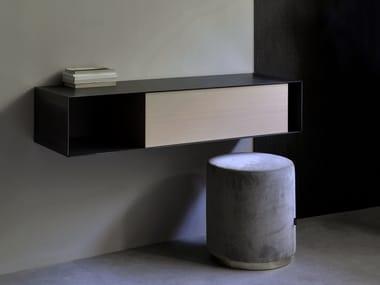 Wall mounted metal secretary desk HORIZONTAL | Secretary desk