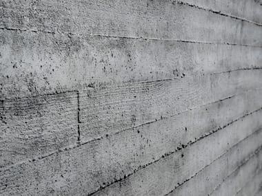 Indoor/outdoor glass-fibre 3D Wall Panel with concrete effect HORMIGON LOFT