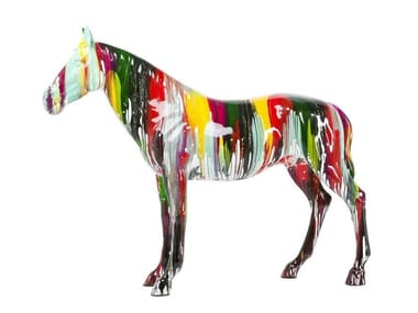 Scultura in fibra di vetro HORSE
