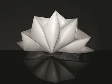 Lampe de table en matérieu recyclé HOSHIGAME