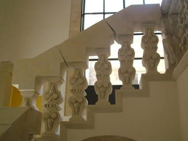 Balaustrada de piedra de Lecce Balaustrada de piedra de Lecce