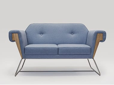 2 seater fabric sofa HOVE CLUB | Sofa