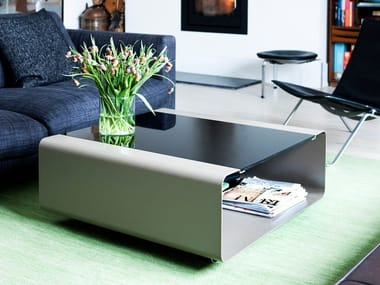 Coffee table with storage space HOVER