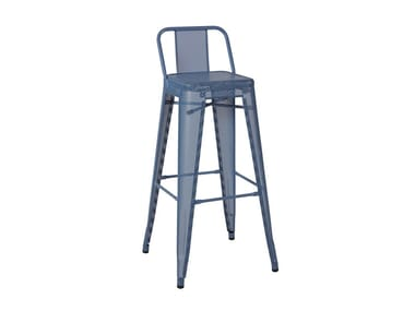 Steel stool HPD PERFORATED