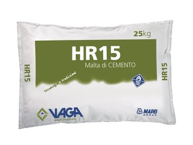 Intonaco per la protezione dal fuoco HR15