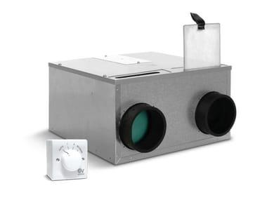 Heat recovery unit for false ceiling HRI MINI EP