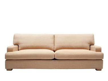 2 seater fabric sofa with removable cover HUGO | 2 seater sofa