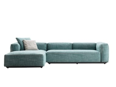 Sectional fabric garden sofa HYBRID