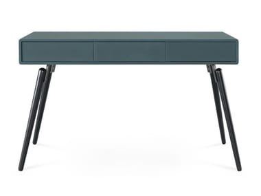 Lacquered console table with drawers HYDE | Console table
