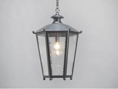 Glass and steel pendant lamp HYDRA | Pendant lamp