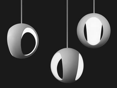 LED resin pendant lamp HYDROGEN