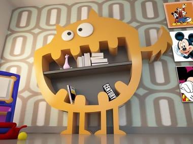 Open Adamantx® kids bookcase HARRY