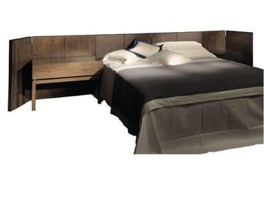 Oak headboard for double bed Headboard
