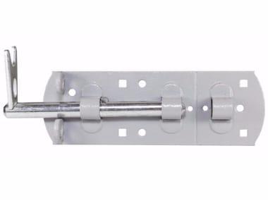 Heavy bolt with padlock Heavy bolt with padlock