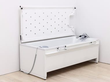 Height-adjustable bathtub Height-adjustable bathtub