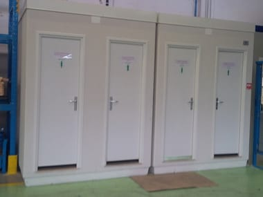 3 functions reinforced concrete Prefabricated toilet I-05(01) | Prefabricated toilet