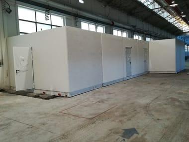 Reinforced concrete Prefabricated toilet I-18(01) | Prefabricated toilet