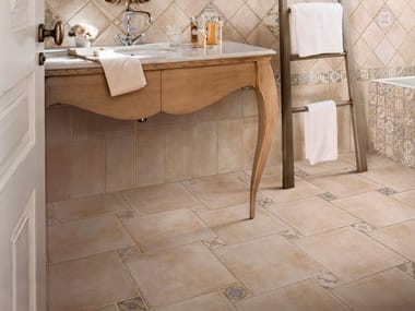 Porcelain stoneware wall/floor tiles with terracotta effect I CHIOSTRI ARGILLA