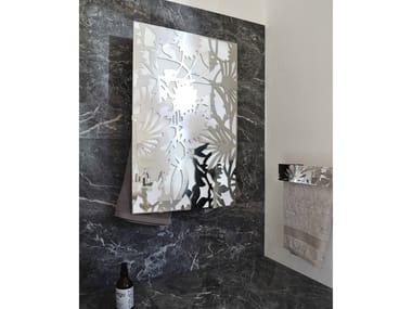 Electric wall-mounted towel warmer I GIOIELLI RECTANGLE