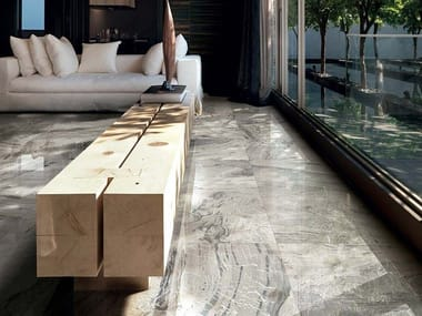 Wall/floor tiles with marble effect I MARMI DI REX