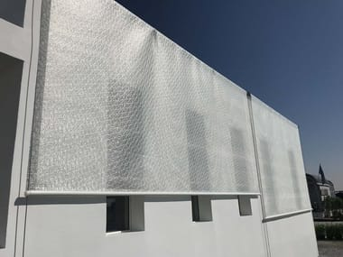 Mineral fibre awning I-MESH® CURTAINS | Awning