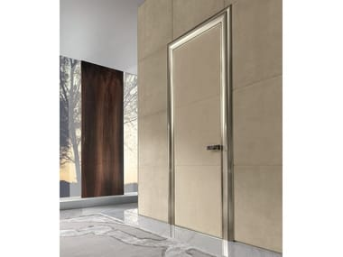 Hinged leather door IANUS | Leather door