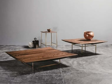 Low wooden coffee table IBIZA FORTE | Coffee table