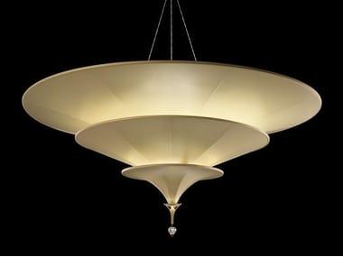 Glass-fibre pendant lamp ICARO