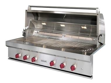 Barbecue a gas in acciaio inox ICBOG54 | Barbecue