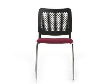 Polypropylene chair / training chair ICE | Reception chair