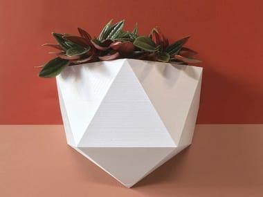 Vaso da parete in plastica riciclata ICO